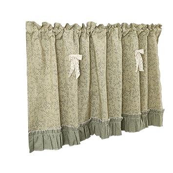 Amazon De Baishatu Romischer Vorhang Kleine Blume Schrank Vorhang