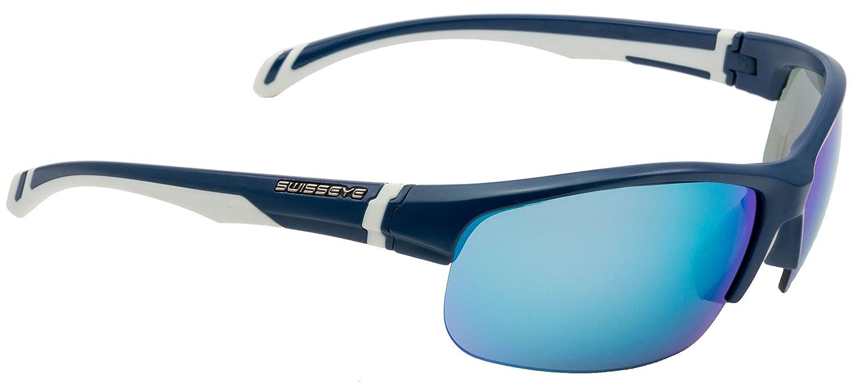 Swiss Eye Model Flash Sportbrille Blau Matt/Weiß