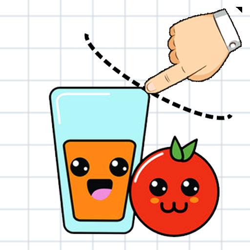 Orange Juice Fill Draw (Glass Happy)
