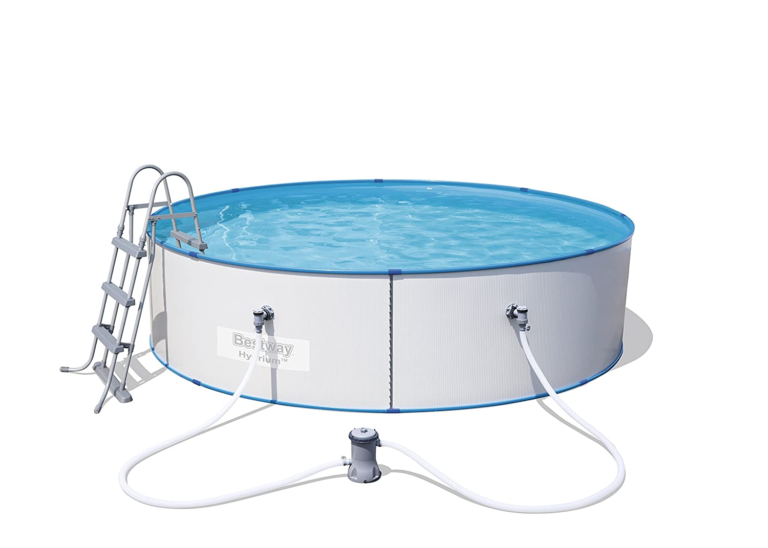 Bestway Hydrium Splasher Steel Wall Pool Set - 12 feet 56377-BGSX16EX04