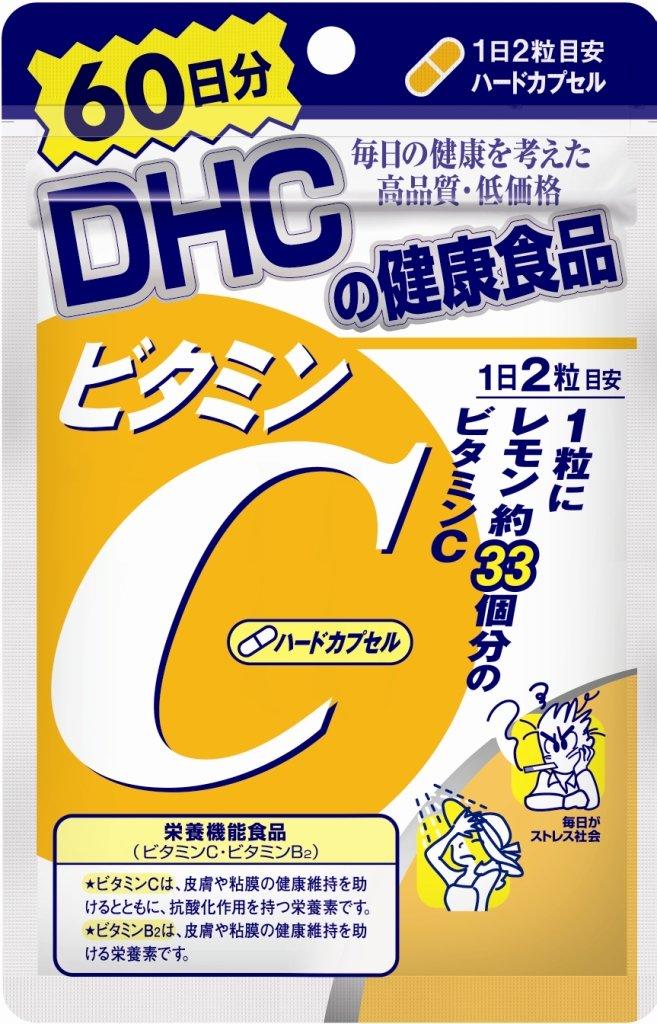 DHC ビタミンC(ハードカプセル) 60日分 120粒 シャディ