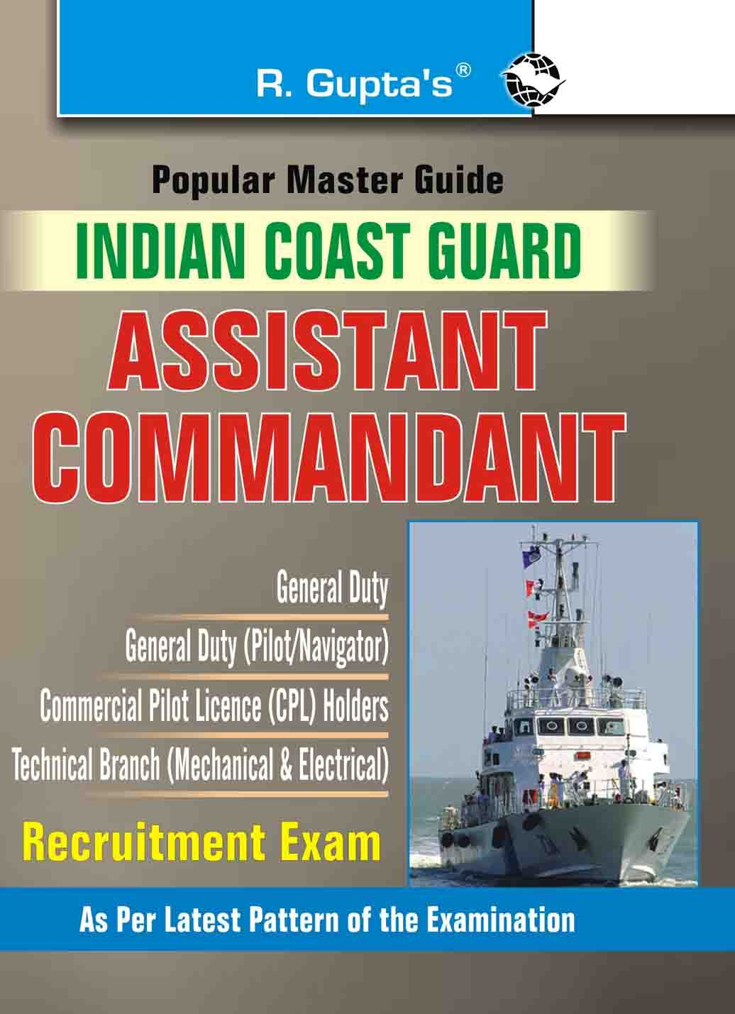 Buy indian coast guard assistant commandant exam guide popular buy indian coast guard assistant commandant exam guide popular master guide book online at low prices in india indian coast guard assistant commandant fandeluxe Gallery