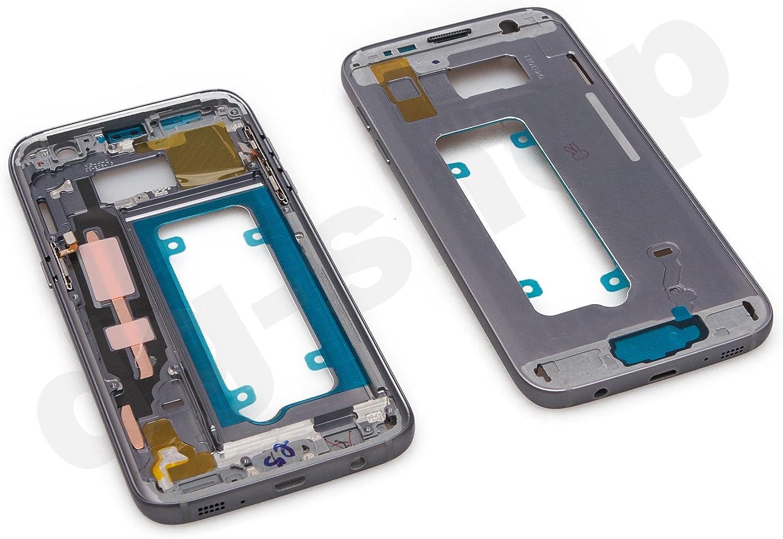 Original Samsung Galaxy S7 SM de g930 F Negro Medio LCD Marco ...