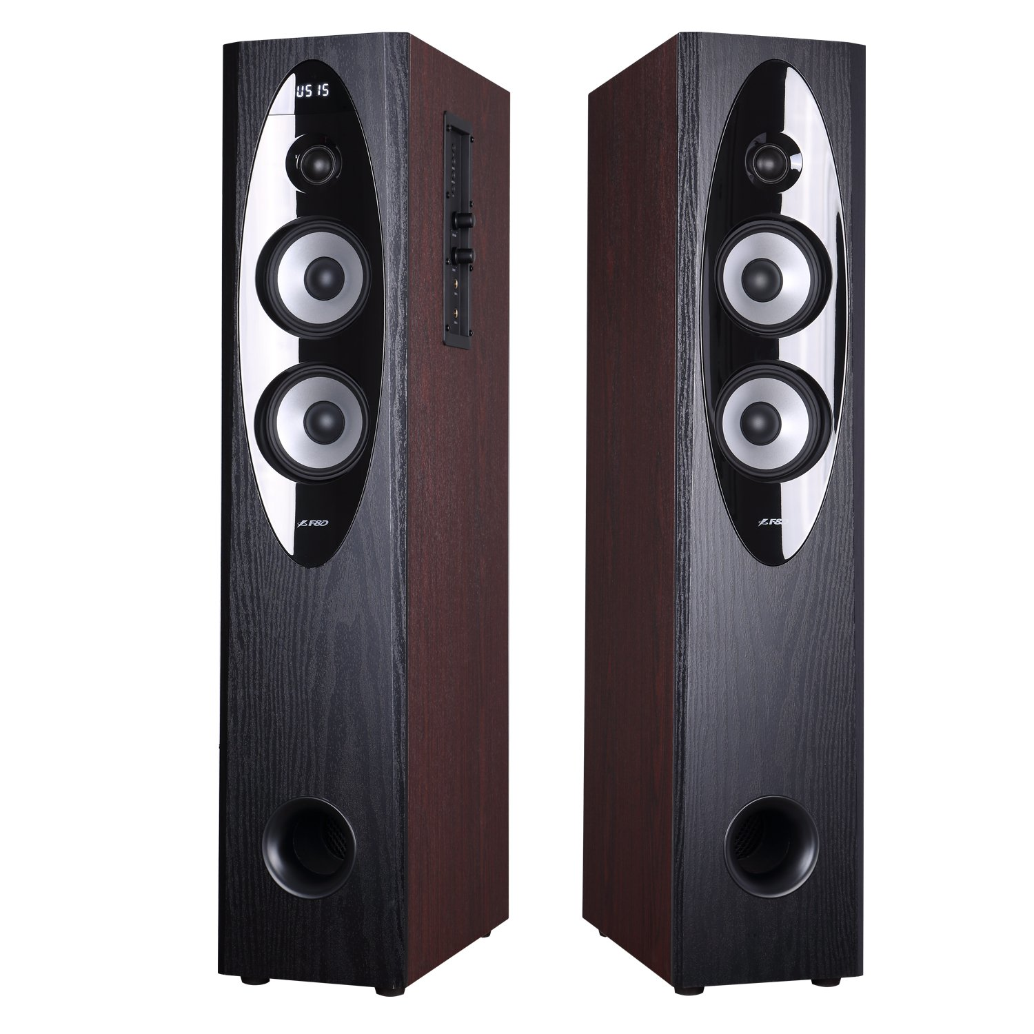 F&D T60x Tower Speaker With Bluetooth (Brown)