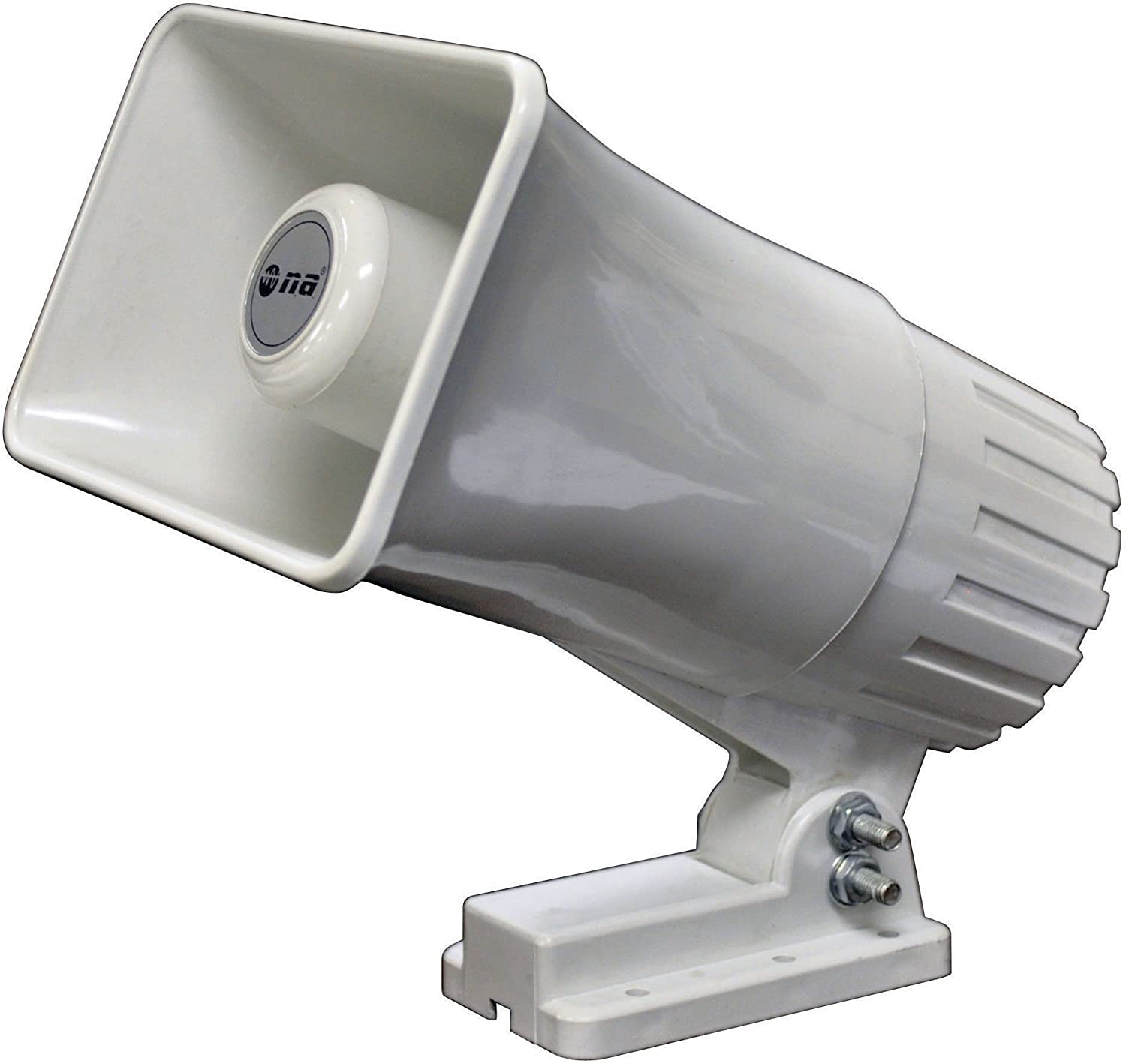New Nippon TC25 80W Indoor//Outdoor Power Horn Loud Speaker TC-25 White 8 Ohm