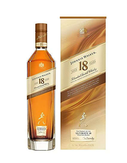 Johnnie Walker Platinum Label, Blended Scotch Whisky,18 Años - 70 cl