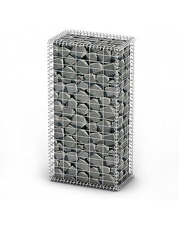 vidaXL Cesta para Muro de Gaviones con Tapas 100x50x30 cm Acero Galvanizado