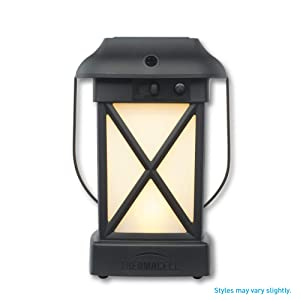 Thermacell Cambridge Mosquito Repellent Patio Shield Lantern; 15-Foot Zone of Protection Effectively Repels Mosquitoes; Functions as Lantern and/or Repellent; Ideal for The Deck, Patio or Back Yard
