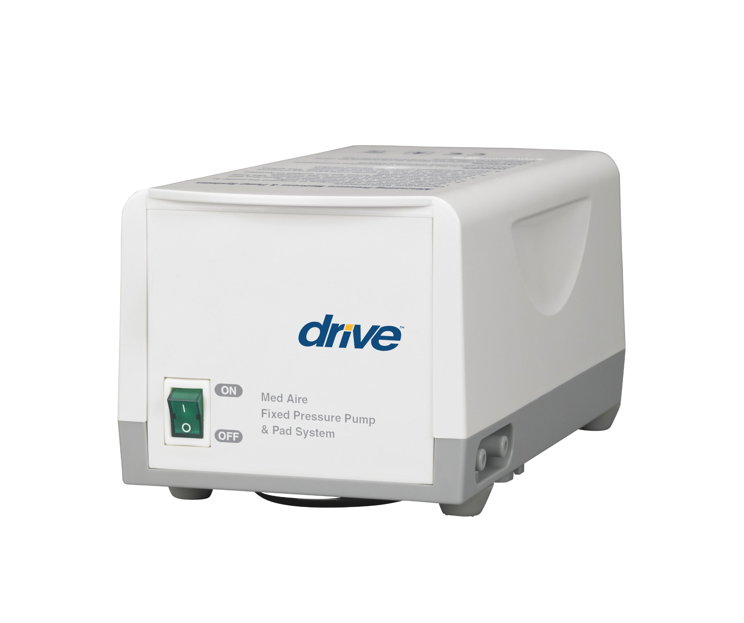 Drive Medical Med Aire Fixed Pressure Pump System, White