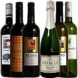 スペインワイン6本セット 赤3本 白2本 泡1本 750ml 6本