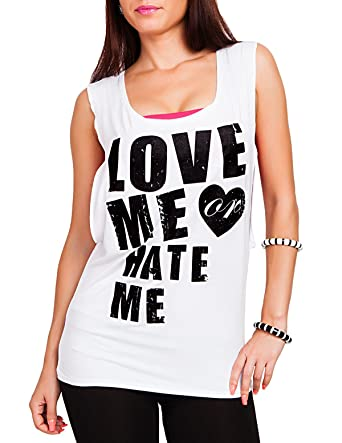 df9eaf495d571 24brands - Women tank top   oversized shirt   blogger   statement print  shirt - 2686