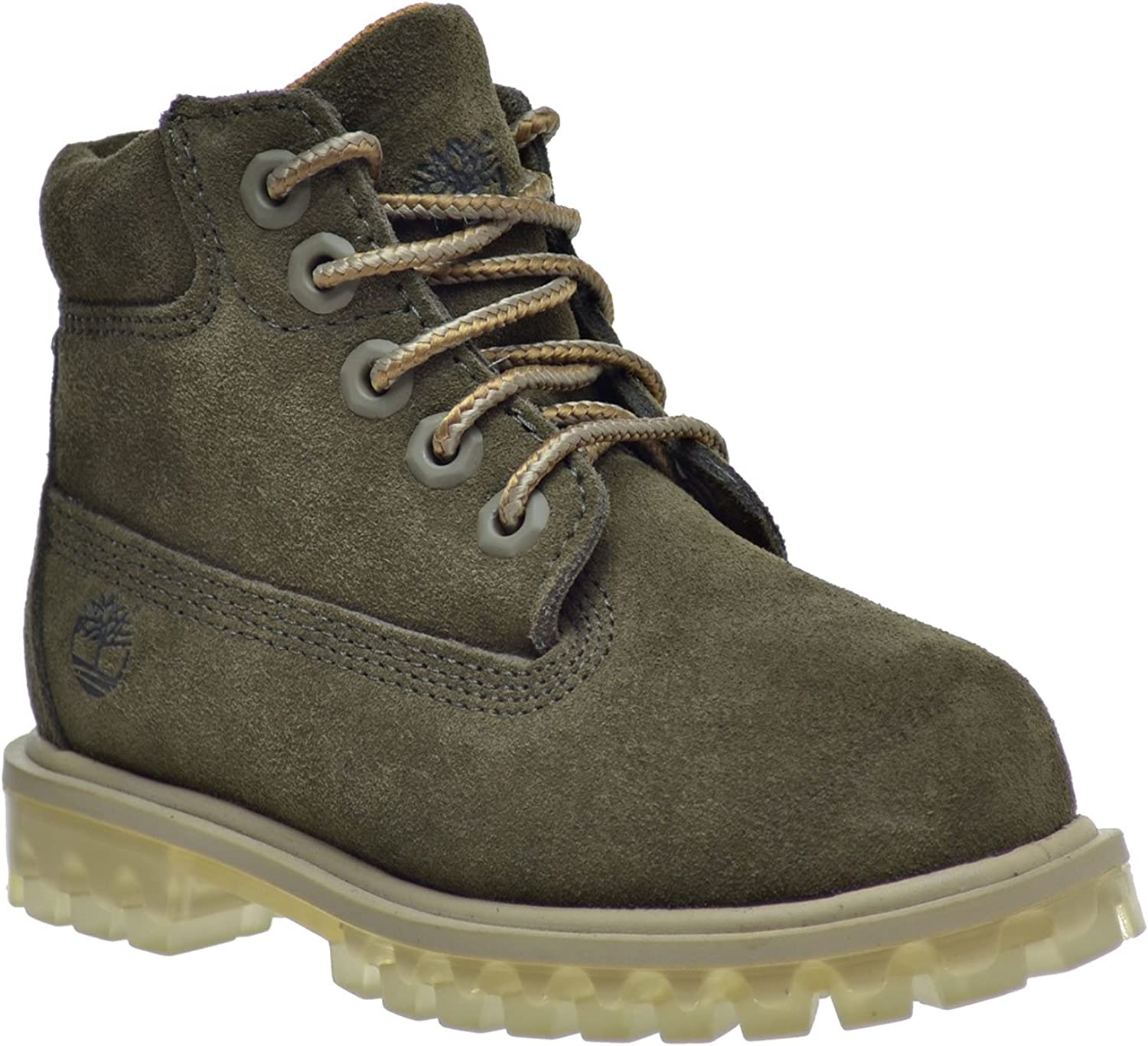 Timberland Toddlers 6 Inch Premium Boots Rust TB0A1BLQ
