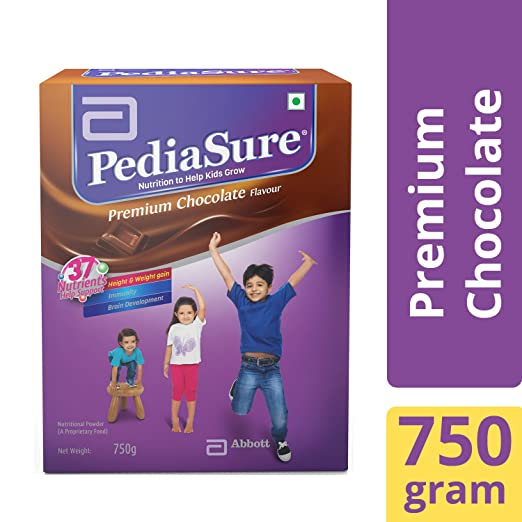 Buy PediaSure Health   Nutrition Drink Powder for Kids Growth - 750g  (Chocolate) Online at Low Prices in India - Amazon.in 1b18453f1