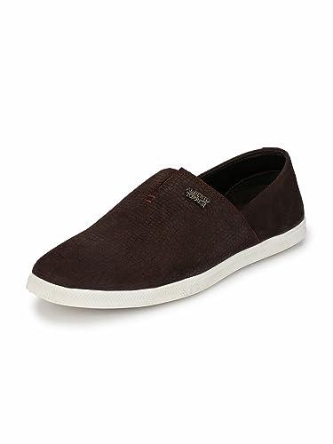 baa7be32347b04 Alberto Torresi Leo Dark Brown Casual Shoe: Amazon.in: Shoes & Handbags