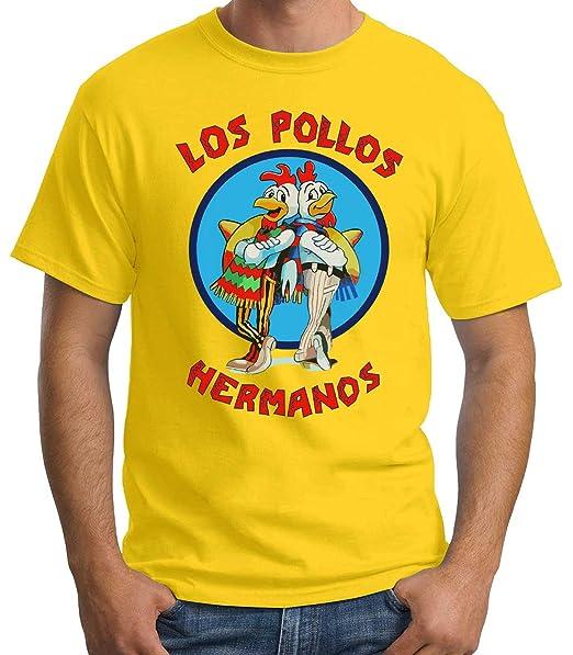 35mm - Camiseta Hombre Los Pollos Hermanos - Breaking Bad  Amazon.es  Ropa  y accesorios 126bda485b6