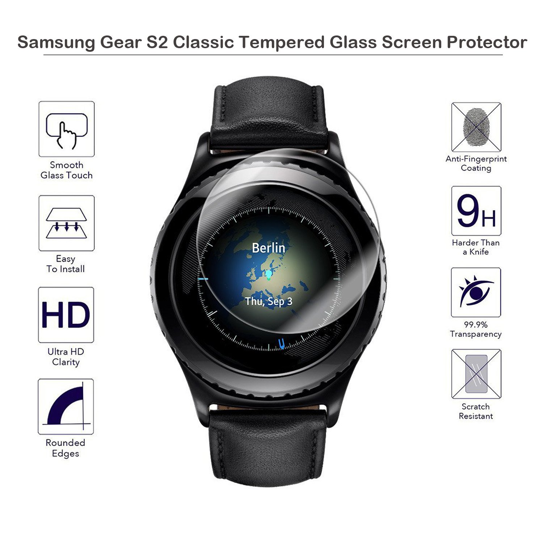 Fiimi – protector de cristal templado para la pantalla del Samsung Gear S2 Classic