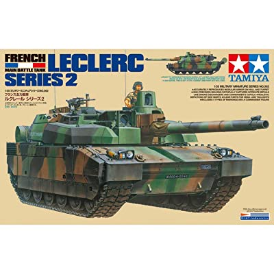 Tamiya America, Inc 1 35 French Main Battle Tank Leclerc Series 2, TAM35362: Toys & Games
