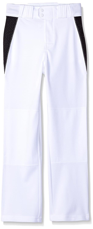 Rawlings ユース リラックスフィット V字型インサート 野球パンツ B004IDEM2M Small White with Black Insert White with Black Insert Small