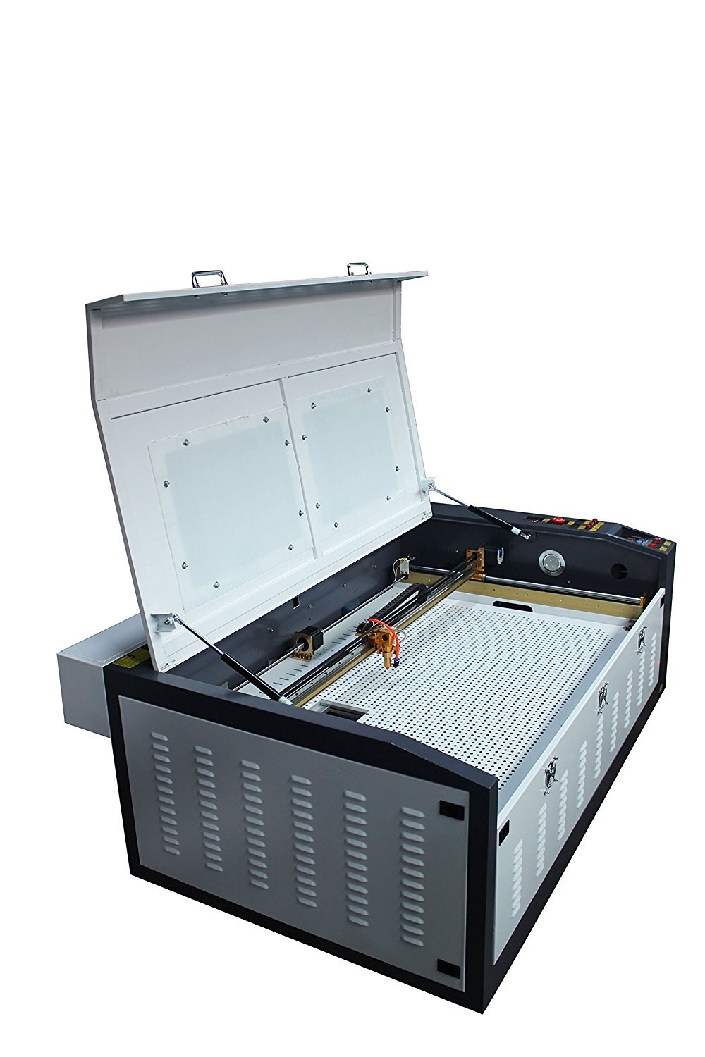 TEN-HIGH 1060 1000x600mm 39.37x23.62 inches 90W small desktop laser engraving cutting machine, Standard version.