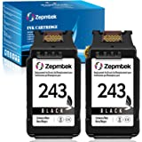 ZepmTek Remanufactured Ink Cartridge Replacement for Canon PG-243 243 PG-245XL PG-245 Fit in Pixma MX492 MX490 TR4520 TR4527