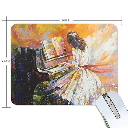 Amazon com : Fashion Retro Unique Custom Mousepad Tango Dancer Oil