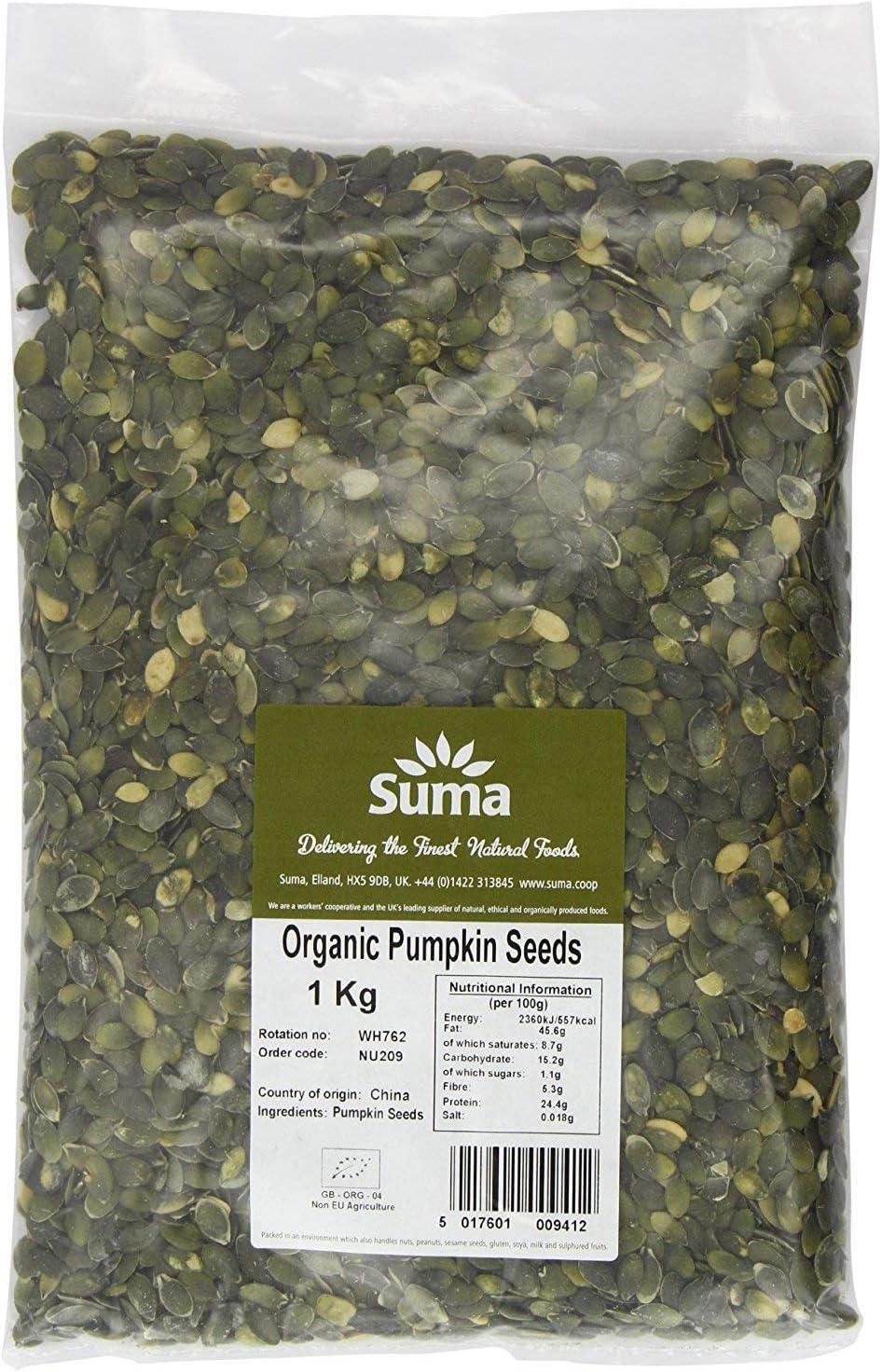 Suma Organic Pumpkin Seeds 1kg