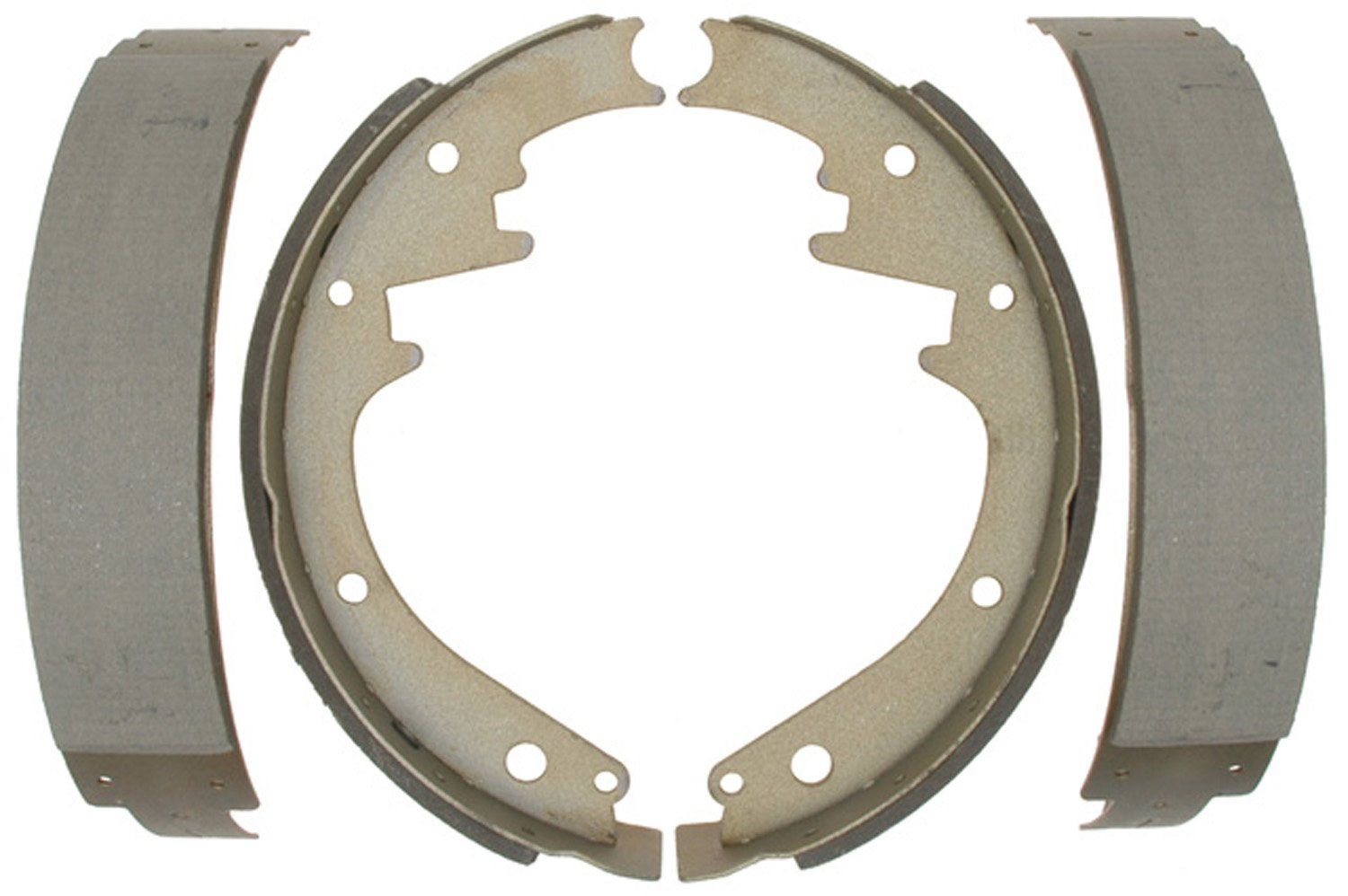ACDelco 14228B Advantage Bonded Rear Brake Shoe Set