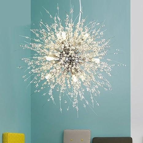 Nclon Moderna Creativo Lámpara de techo,E27 Enchufe Acrílico ...
