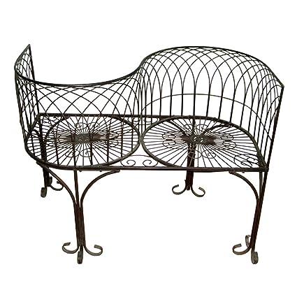 amazon com design toscano tete a tete kissing garden bench