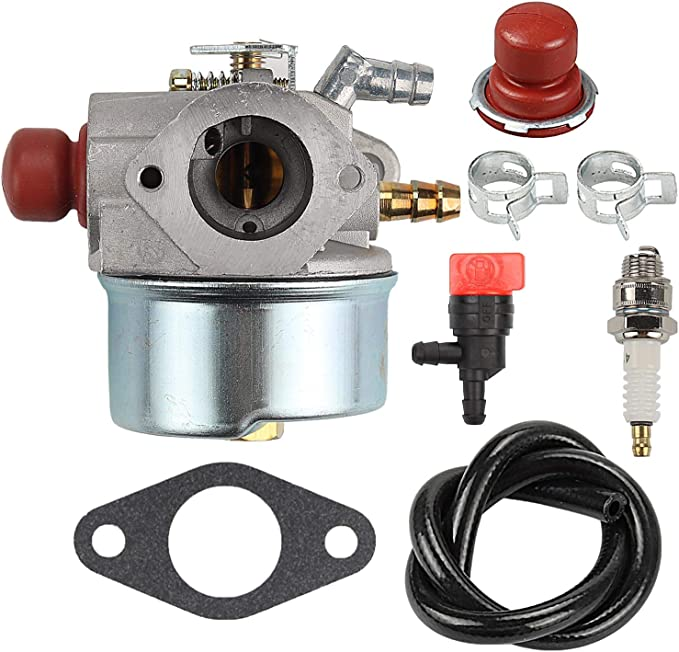 Carburetor For Craftsman 247.775870 Chipper Shredder with Tecumseh 6.5 Hp Engine