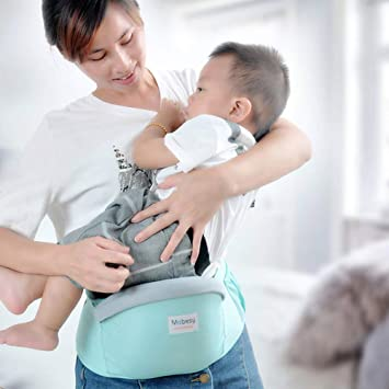Up 32 Lb 4-in-1 Convertible Baby Carrier with 3D Cool Air Mesh Heather Grey
