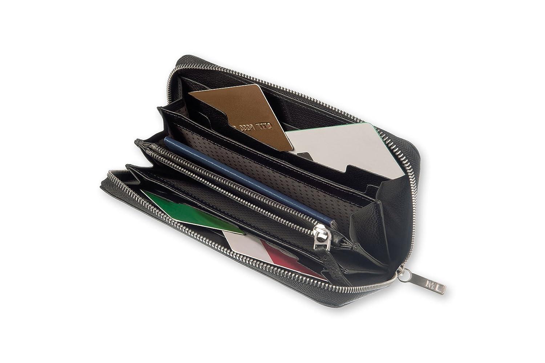 Moleskine Lineage Leather Smart Zip Wallet