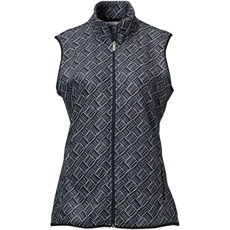 b4f66c1945578 Amazon.com  adidas Golf Womens Climawarm Printed Fleece Vest