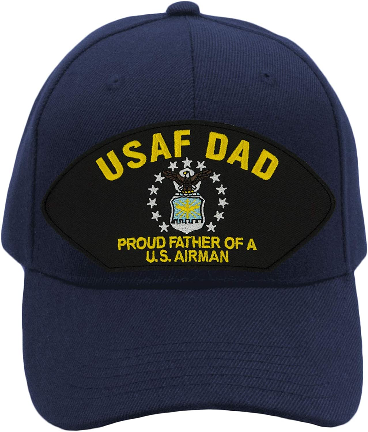 USAF PROUD TO HAVE A AIR FORCE SON BALL CAP HAT NAVY NEW