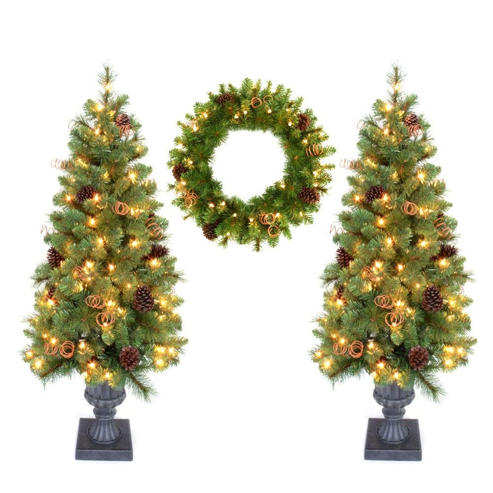 Amazon.com: Sullivans Small Artificial Pine Tree with Tree Stump ...