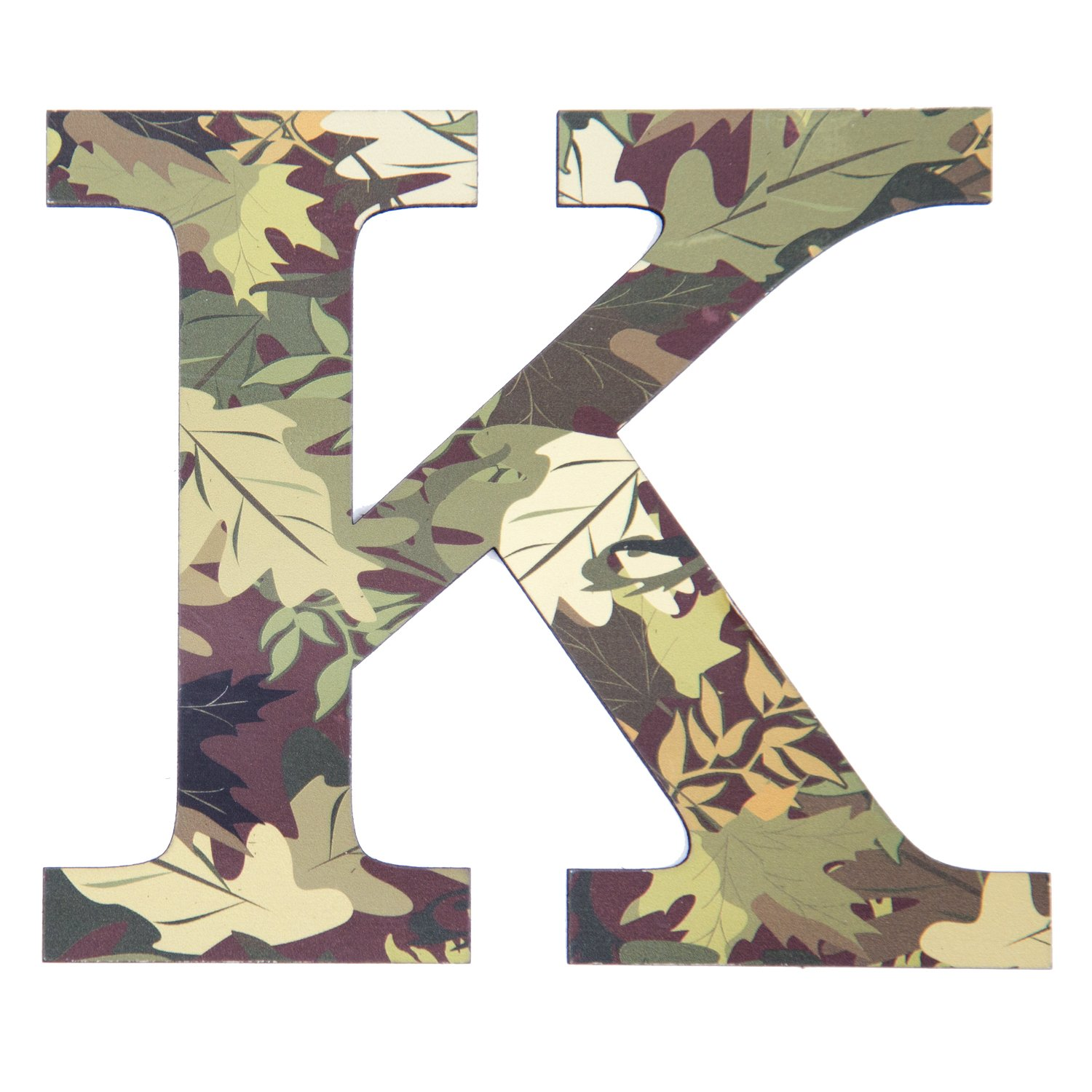 Amazon Com 11 Tall Mossy Oak Designer Camo Wall Letter K Camo Pattern 3d Wall Decor Unique Wall Initial For Living Room Bedroom Man Cave Boys Room Girls