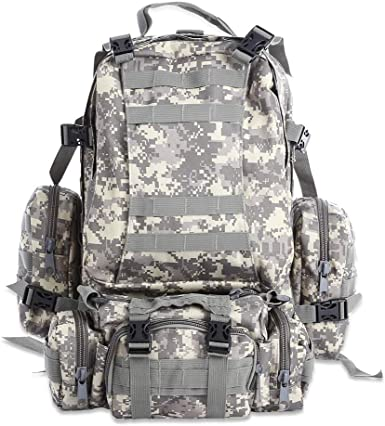 Selighting Tactical Backpack 40//50L Waterproof Military Hiking Bag 3 Way MOLLE