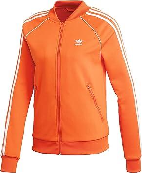 Tt Amazon naranj Adidas Chaqueta es Mujer Sst Naranja Sw5n8qz7x