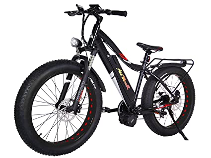 0d78f708aef Addmotor MOTAN 26 Inch Electric Bicycles 1000W Bafang BBSHD Mid Drive  Brushless Motor Ebike 30MPH 17.5AH Lithium Battery Fat Tire Mountain Snow  Electric ...