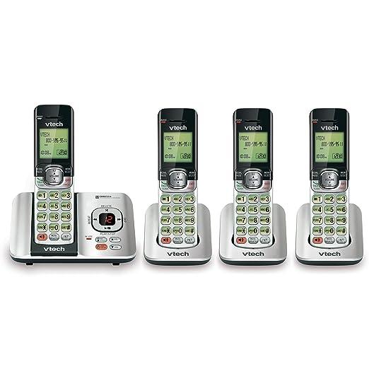 amazon com vtech cs6529 4 dect 6 0 phone answering system with rh amazon com Old VTech Phonics VTech Flip for Phonics