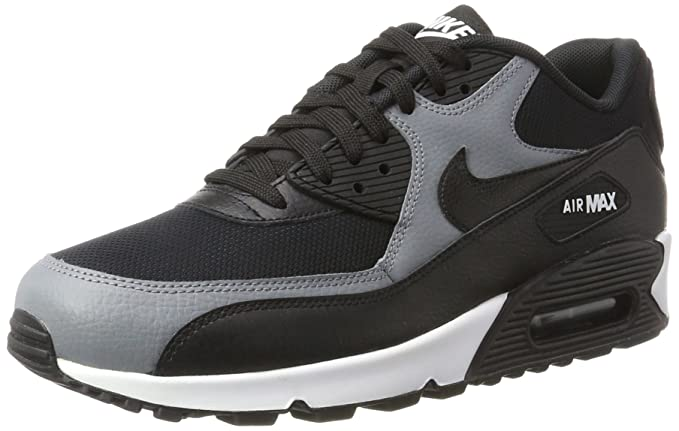 Nike Air Max 90 Zapatillas Mujer Negro (Black/black cool Grey