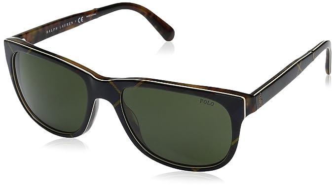 a39abd2e5fe42 Image Unavailable. Image not available for. Color  Polo Ralph Lauren Men s  Acetate Man Wayfarer Sunglasses ...