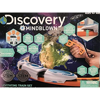 Discovery Mindblown Levitating Train Set: Toys & Games