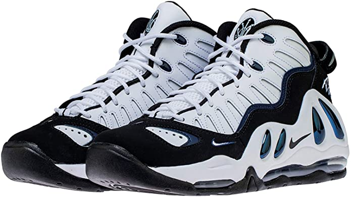 new product 768bf c2779 Nike Air MAX Uptempo 97 399207-101 - Hombre, White White-Black-College  Navy, 15 M US  Amazon.com.mx  Ropa, Zapatos y Accesorios