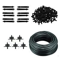 CINAGRO - Drip Irrigation Accessories - 4mm Feeder Line Pipe, Drip Emitters, Pin Connectors and Arrow Stakes