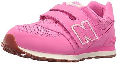 New Balance Girls\u0027 KV574V1 Sneakers, Pink, 2 M US Infant