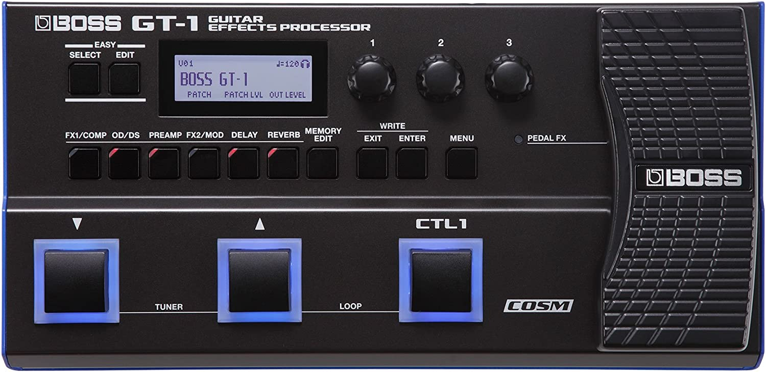 BOSS GT-1 Multi-FX Guitar Effects Processor