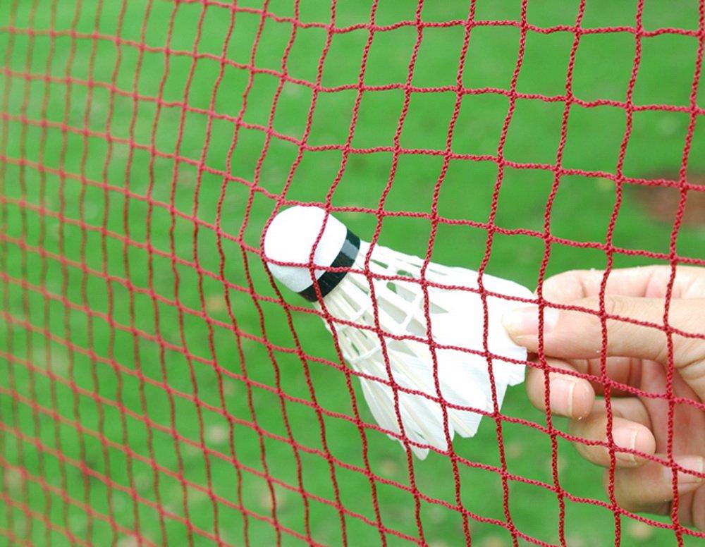 20 Professional Training Standard Braided Badminton Net White Hem 6.1m X 0.79m