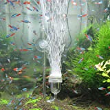 Upettools Air Stone Nano Bubble Stone Micro Oxygen and Co2 Bubble Diffuser Mute Low Pressure for Office Fish Tank Ponds Aquarium and Hydroponic Nutrient Tanks.