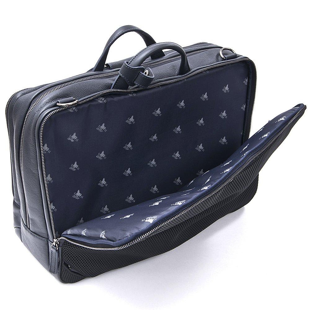 f87ae4c7d822 Amazon.co.jp: [FLYING HORSE/フライングホース] ホースレザー 馬革 3WAY ビジネスバッグ (ネイビー):  シューズ&バッグ